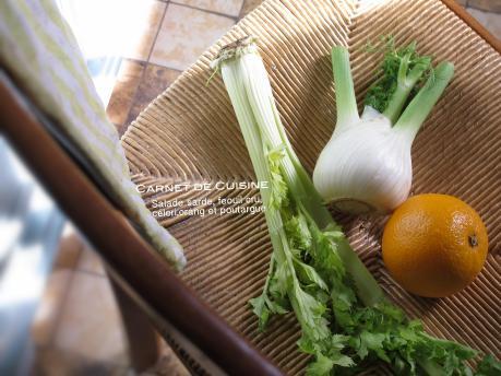薩丁島烏魚子,茴香甜橙沙垃-1