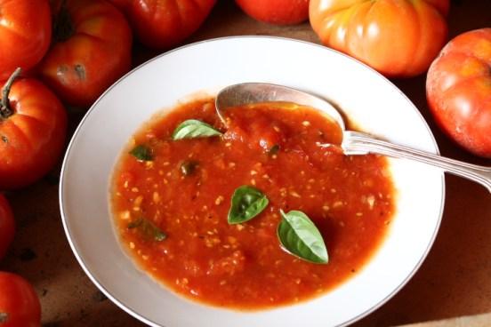 法國家常料理-無水番茄湯Soupe tomates