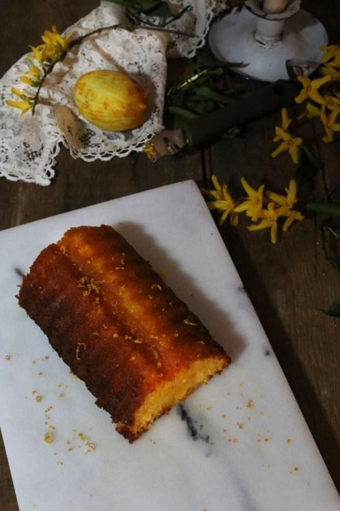 濕潤甜橙蛋糕Gâteau très moelleux à l'orange