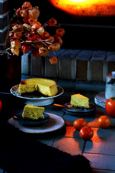 奶油南瓜乳酪蛋糕