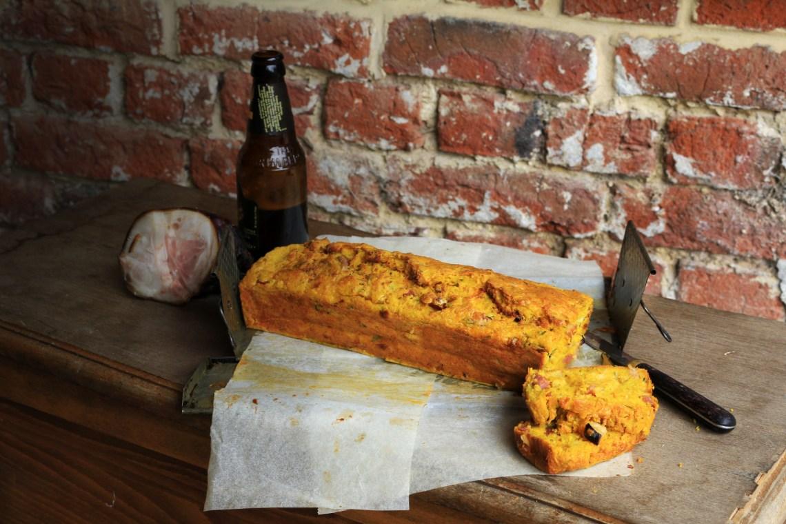 法國家常料理-鄉村啤酒鹹蛋糕CAKE SALÉ À LA BIÈRE