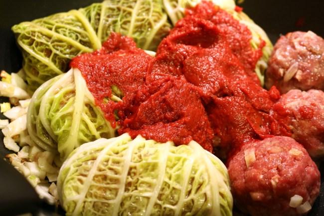 義大利家常料理-義式卷心菜填肉捲