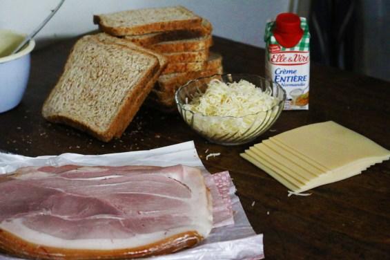 烤乳酪嗑先生CROQUE- MONSIEUR AU FOUR-5