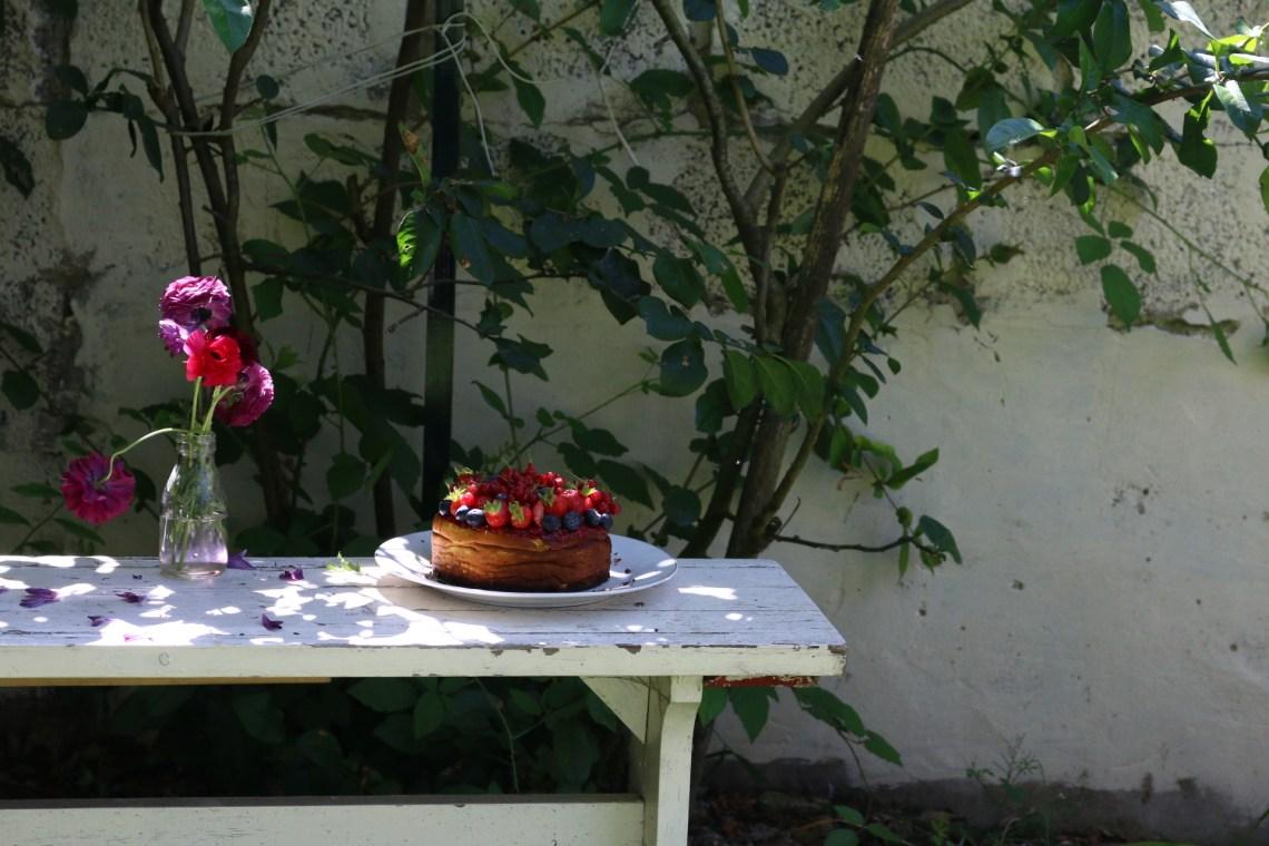 紅莓果白乳酪蛋糕 GÂTEAU AU FROMAGE BLANC AUX FRUITS ROUGES-5