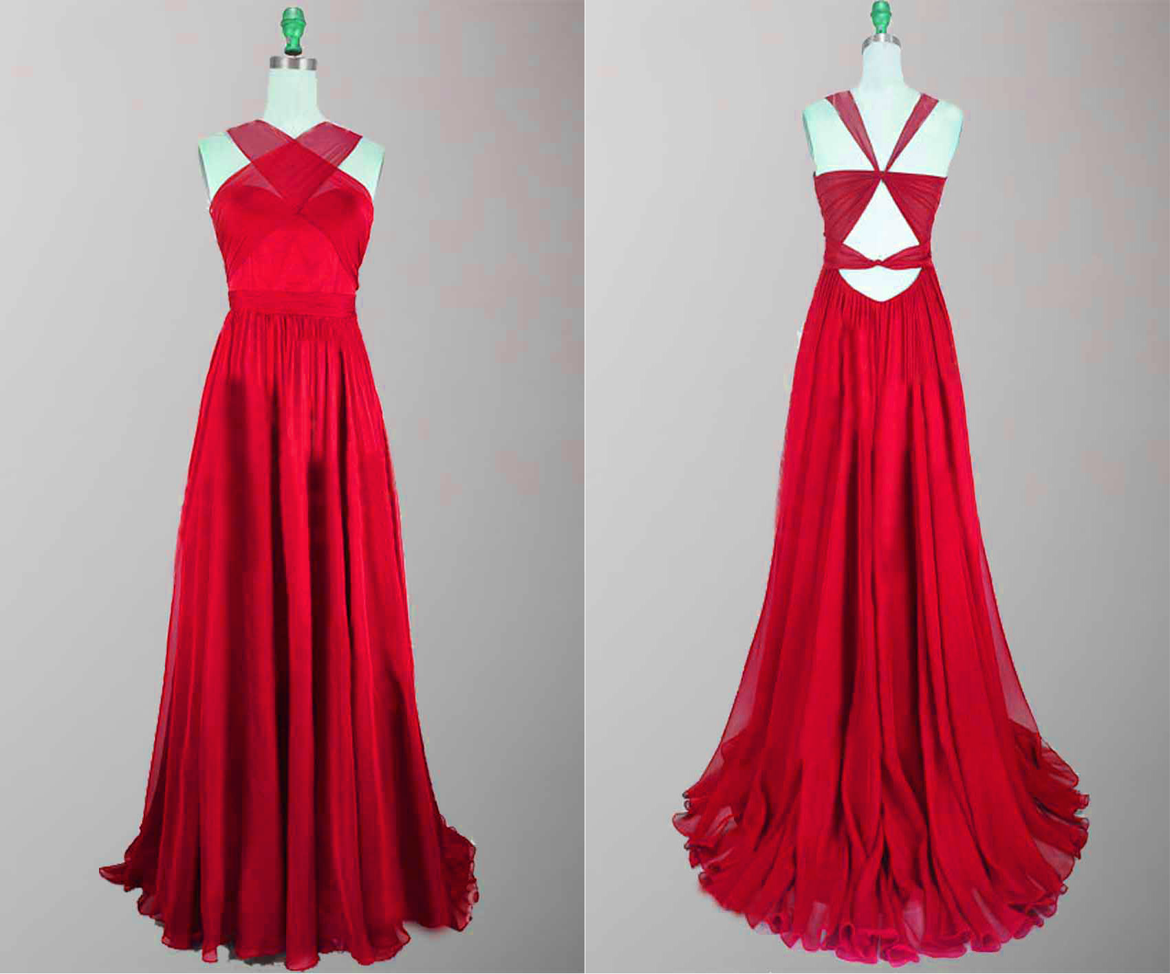 Occasional Wear:red Prom Dress