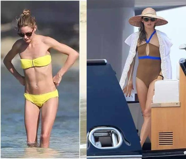 Olivia palermo wearing swimsuit