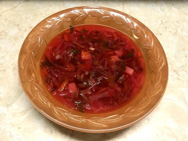 Ukrainian-borscht