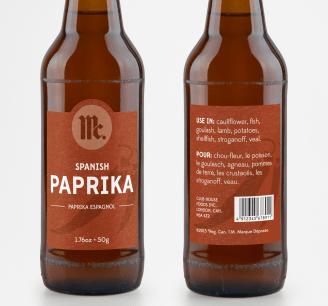 Paprika Bottle