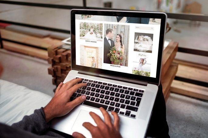 Prairie Weddings Web Design