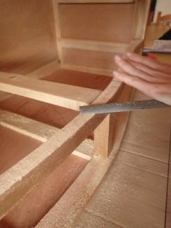 Devastando la madera
