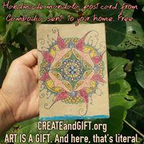 CREATE and GIFT Mandala