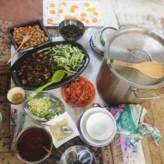 Korean cooking workshop confest2