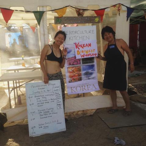 Korean Cooking Workshop at ConFest
