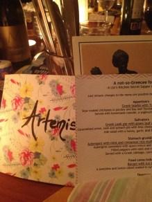 Not-So-Greece Food affair secret supper