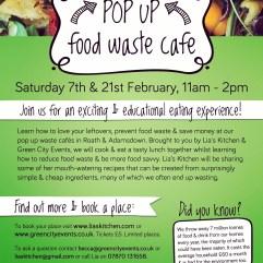 Pop Up Cooking workshops LFHW