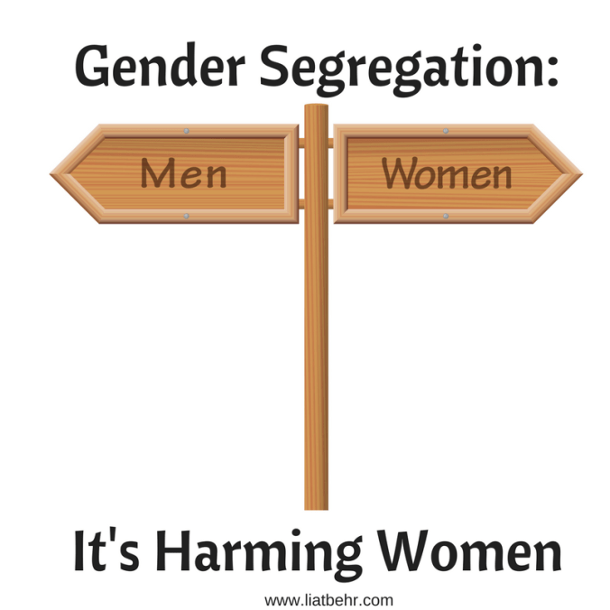 Israel Gender Segregation