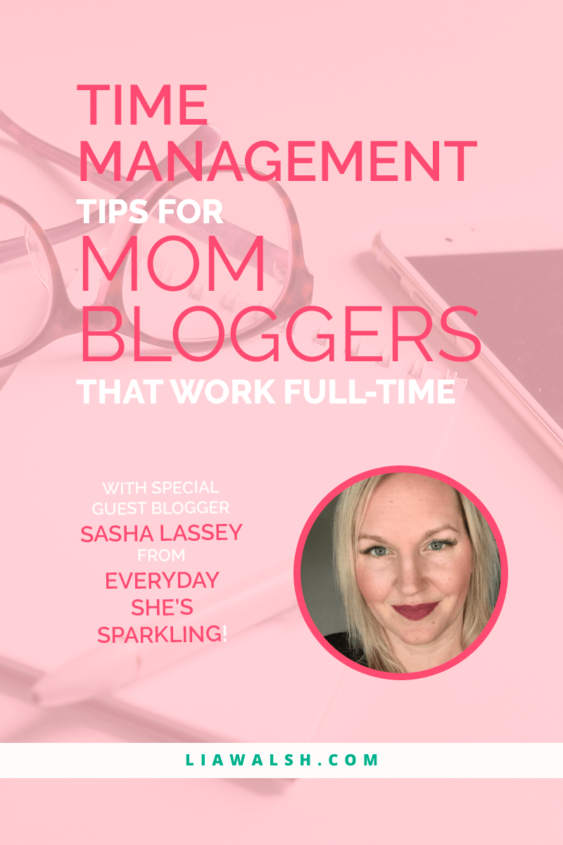 If you need to update your time management skills, these tips and tricks from Sasha Lassey at Everyday She\'s Sparkling may be just what you\'re looking for! These strategies will help you increase productivity, get more done and manage your time much better. Click through now and don\'t forget to pin this post for later!