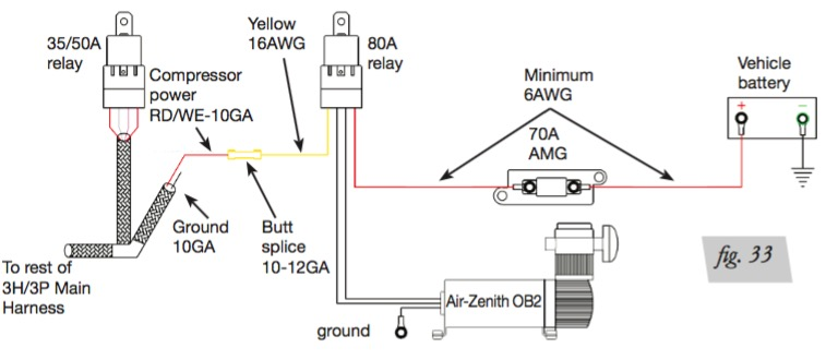 viair relay wiring warn relay wiring, ford relay wiring, bosch Electrical Contactor Wiring Diagram