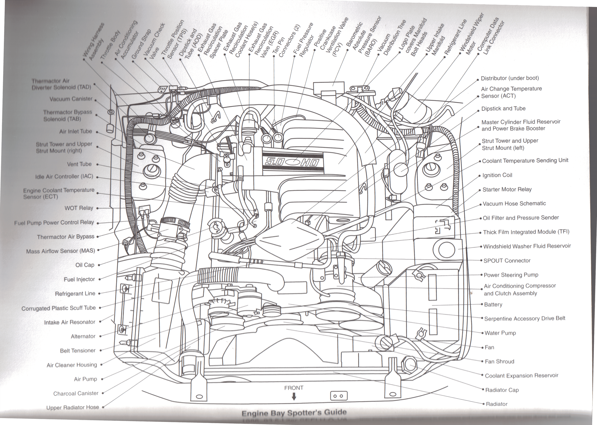 1989 mustang 5 0 alternator wiring diagram   42 wiring