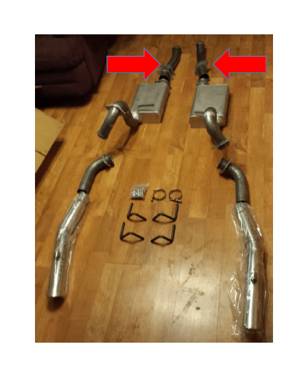 how to install mac cat back exhaust on