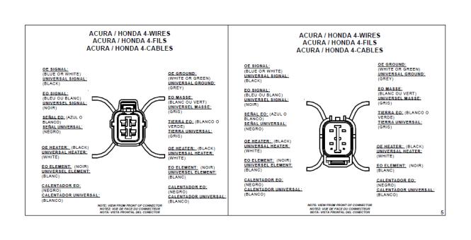 Images of Universal Oxygen Sensor Wiring Diagram Wiring diagram – Honda O2 Sensor Wiring Diagram