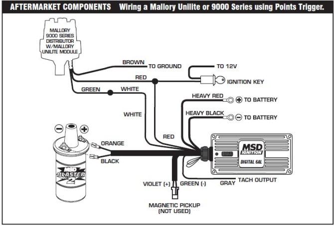 mallory comp 9000 wiring diagram 5 0  1996 sundowner