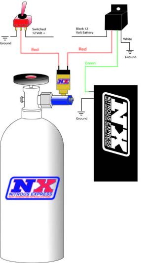 How to Install an NX Bottle Heater  D4 on Your 19792012 Mustang | AmericanMuscle