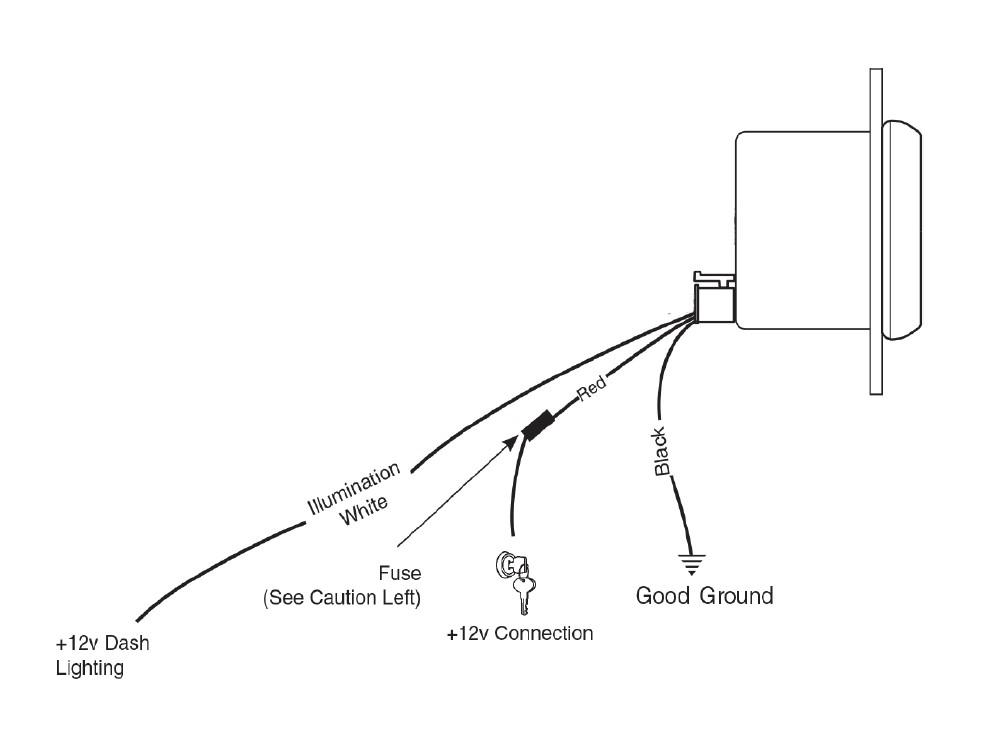pro comp auto meter tach wiring
