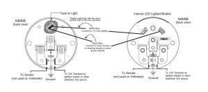 How to Install Auto Meter Factory Match Transmission Temp