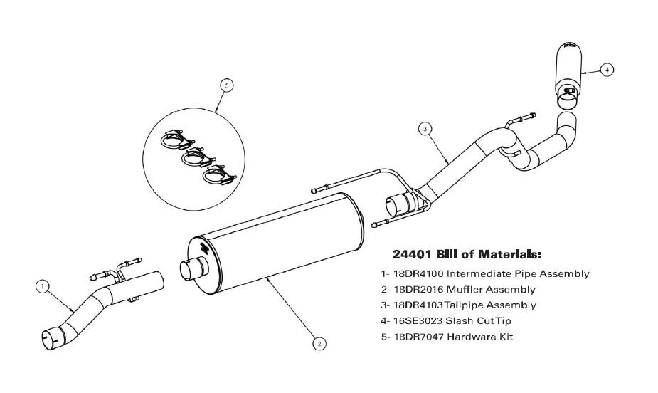 2007 dodge ram exhaust diagram