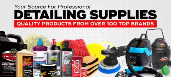 Auto Detailing Supplies, Chemicals, Equipment, Accessories ...