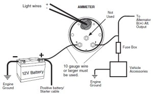 How to Install Auto Meter Voltmeter Gauge  Electrical
