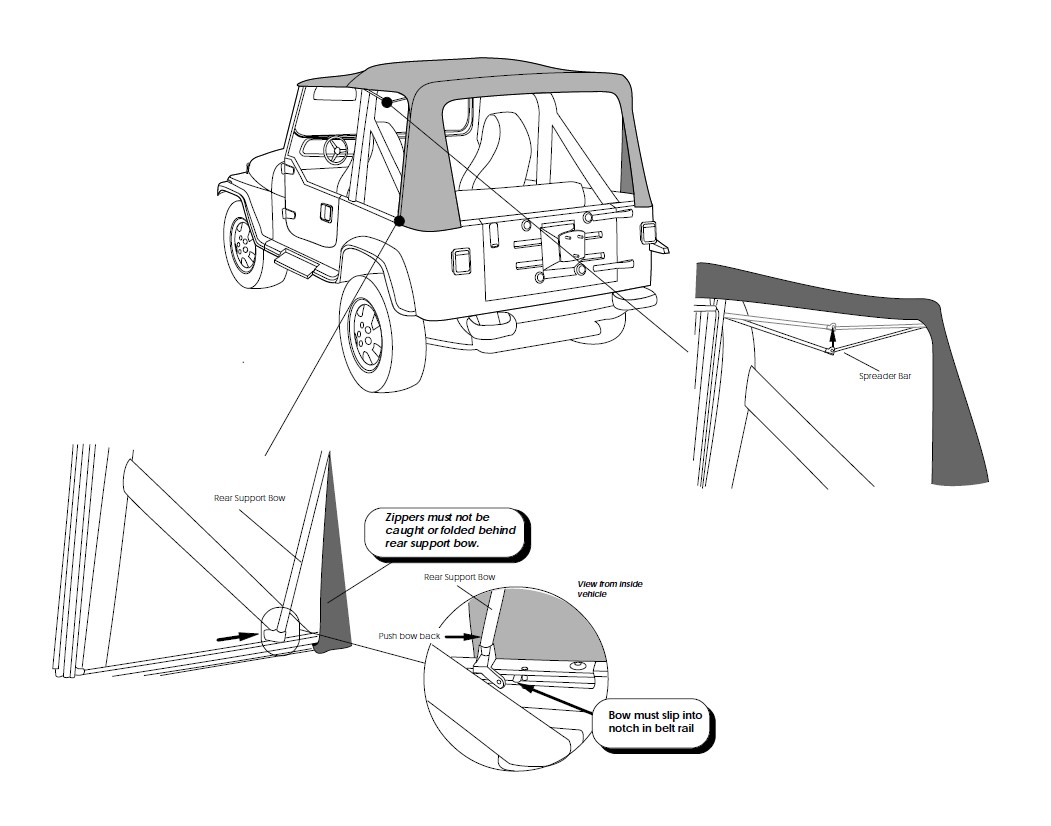 Jeep Wrangler With Half Doors