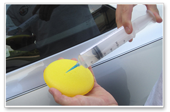 Use isopropyl alcohol to thoroughly clean the car before applying Opti-Coat.