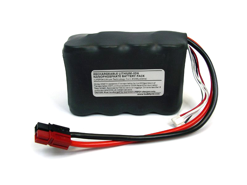 Buddipole battery 13,2V 4,6Ah
