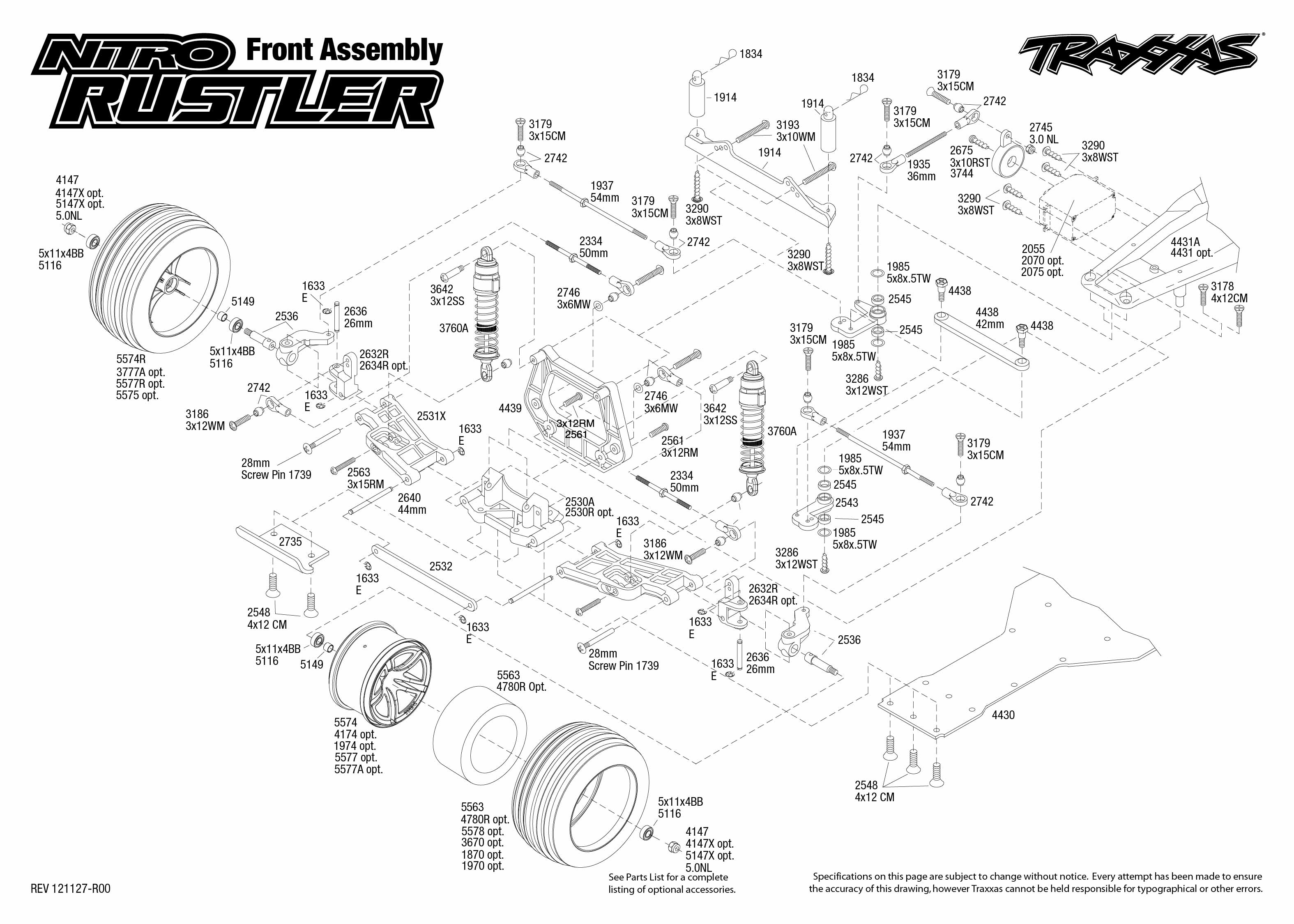 Traxxas Slash 2wd Transmission Diagram