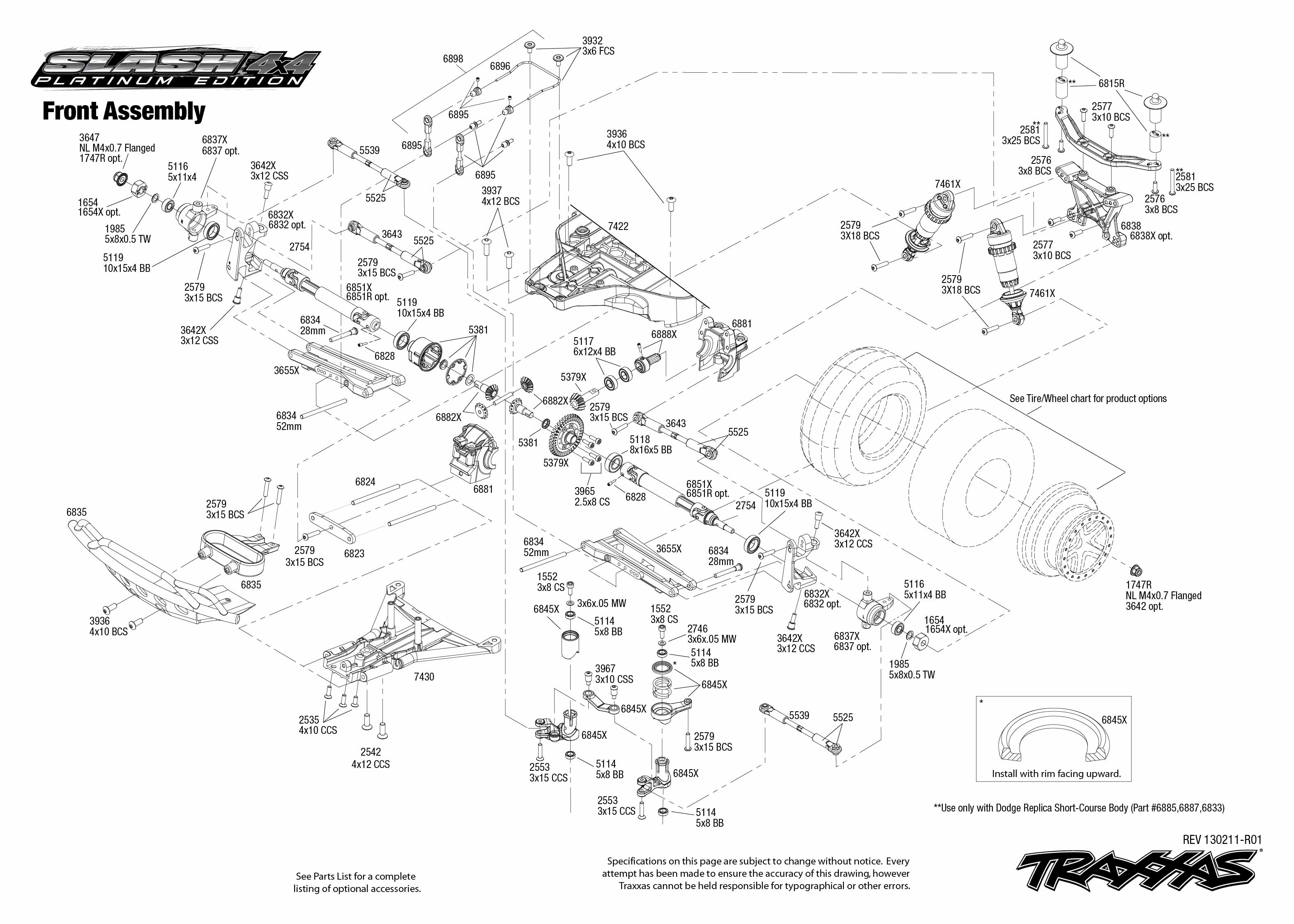 Traxxas Slash 2wd Parts Diagram Full Version Free