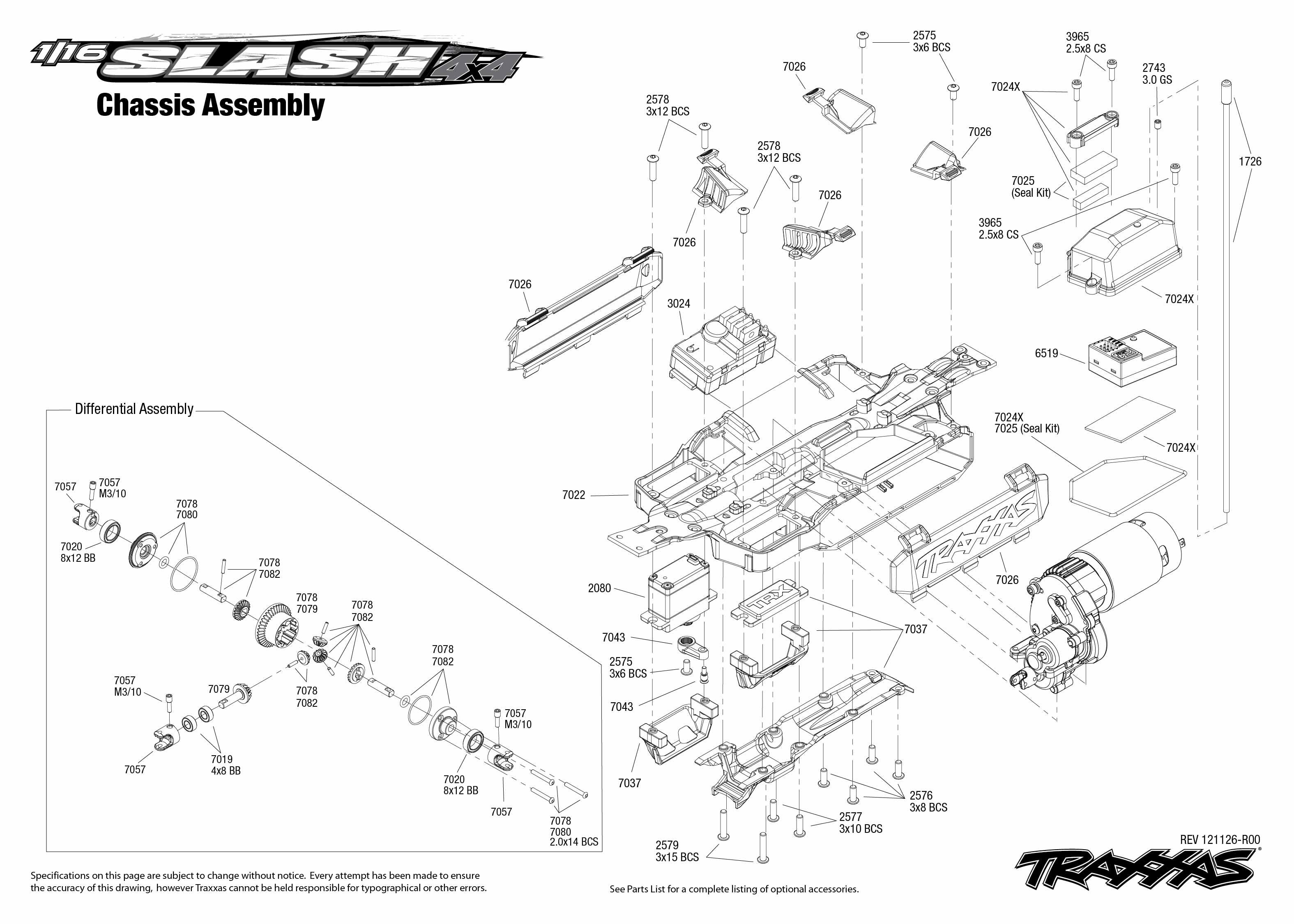 Traxxas 1 16 Scale Pro Slash 4x4 4wd Short Course Truck W