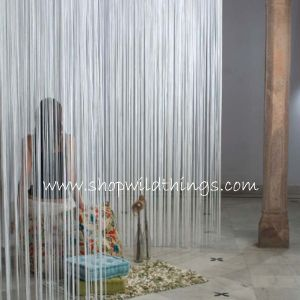 String Curtains White String Curtains 7 Feet To 30 Feet Long Party String Panels Event