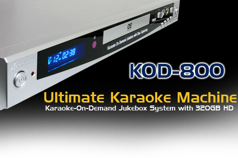 AceSonic Launches A New Hard Drive Based Karaoke Player