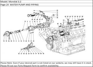 Buy Ferrari Part # 132980 INLET MANIFOLD GASKET, F40, F 40288GTO, 288 GTO 308308 GTBi, 308