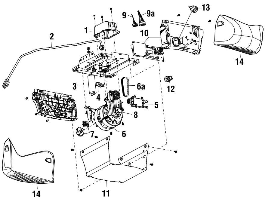 Diagram Door Controllers Linear Garage File Yw77474
