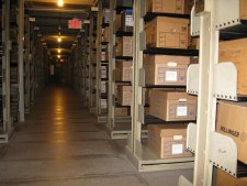 Archives and Rare Books Library Stacks