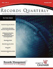 Records Quarterly Summer 2010