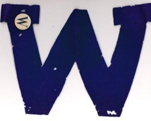 """Woodward High School """"W"""""""