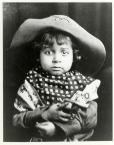 Theodore Berry as a child