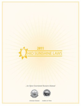 Cover Ohio Sunshine Laws