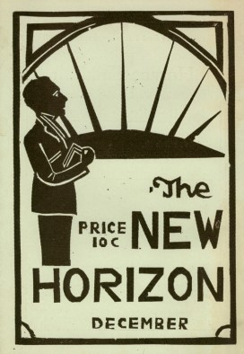 Cover of The New Horizon magazine