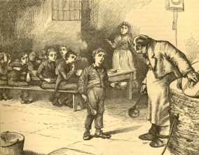 Scene from Oliver Twist