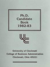 Ph.D Candidate Book